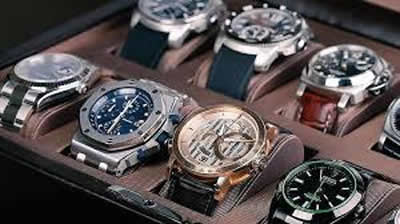 Display of Watches