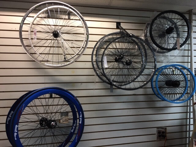 wheel of bike